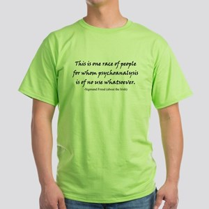 Freud and the Irish Green T-Shirt