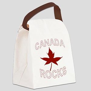 Canada Rocks Canada Canvas Lunch Bag