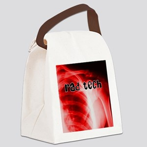 rad tech electronic skins Canvas Lunch Bag