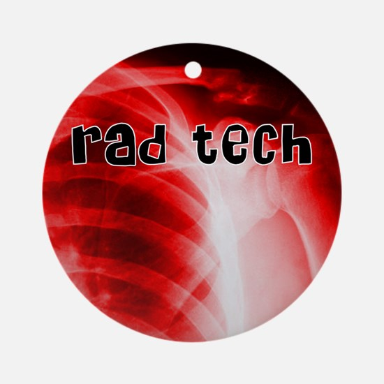 rad tech electronic skins Round Ornament