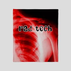 rad tech electronic skins Throw Blanket