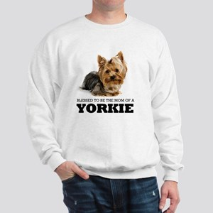 Blessed YORKIE MOM Sweatshirt