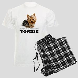 Blessed YORKIE MOM Men's Light Pajamas