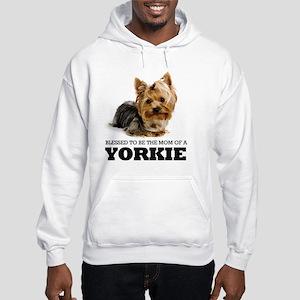 Blessed YORKIE MOM Hooded Sweatshirt