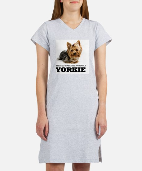 Blessed YORKIE MOM Women's Nightshirt