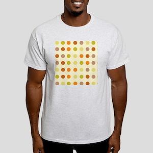 Brown Stripes big f dots Light T-Shirt