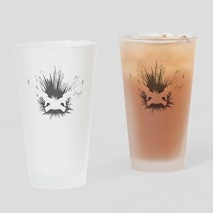 Crowder Explosives Drinking Glass