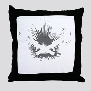 Crowder Explosives Throw Pillow