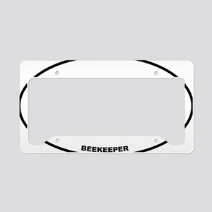 BKPR Beekeeper License Plate Holder