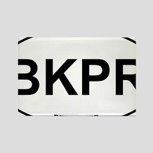 BKPR Beekeeper Rectangle Magnet