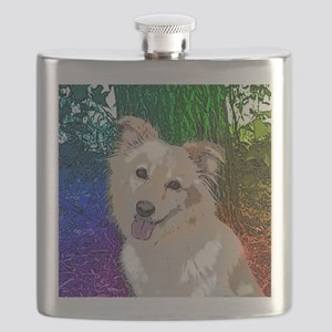 Pretty Polly Rainbow Flask