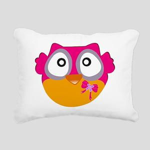 Cute Owl Rectangular Canvas Pillow