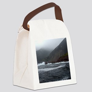 Morning Stormy seas off Cape Bret Canvas Lunch Bag