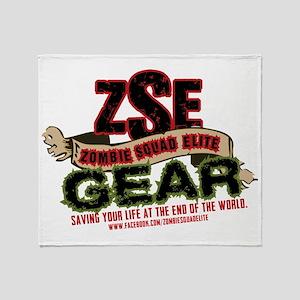 ZSE Logo Brand Throw Blanket