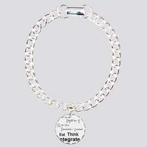 Eat. Think. Integrate. Charm Bracelet, One Charm