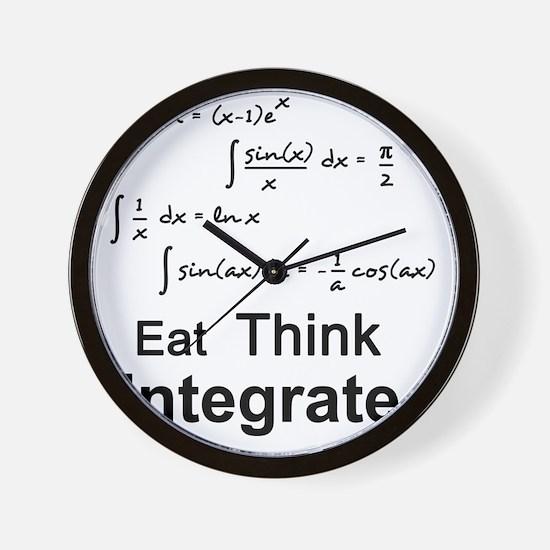 Eat. Think. Integrate. Wall Clock