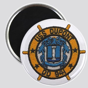 uss dupont patch transparent Magnet