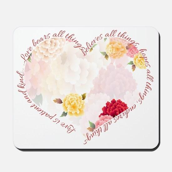 heartflowers Mousepad