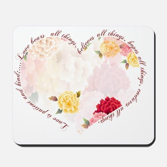 heartflowers4 Mousepad