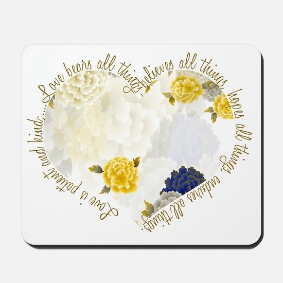 heartflowers3 Mousepad