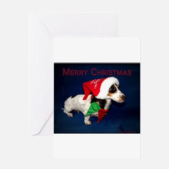 Catahoula or Dachshund Greeting Cards