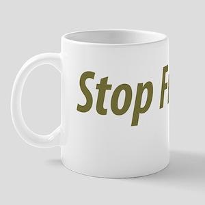stop_fracking Mug