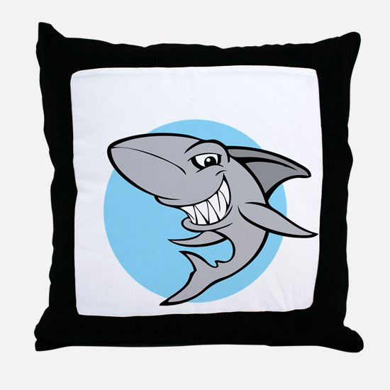 SHARK24 Throw Pillow