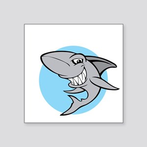 "SHARK24 Square Sticker 3"" x 3"""