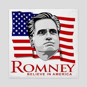 Mitt Romney 2012 Queen Duvet