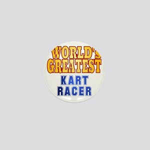 World's Greatest  Kart Racer Mini Button