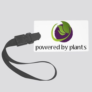 powered By Plants Large Luggage Tag