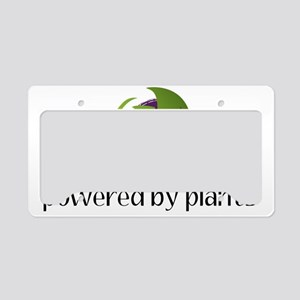 powered By Plants License Plate Holder