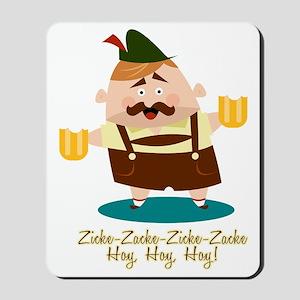 Zicke-Zacke Oktoberfest Leo Mousepad