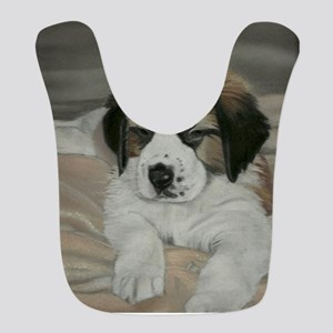 saint bernard puppy Bib