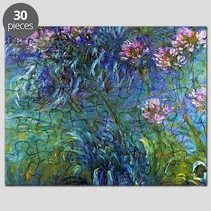 Claude Monet Jewelry Lilies Puzzle