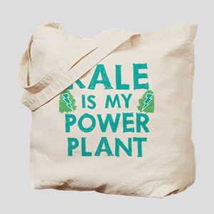 Kale is my power plant Tote Bag