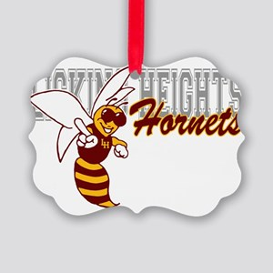 Friendly Hornet Picture Ornament