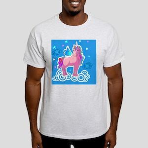 Little Pink Unicorn Light T-Shirt