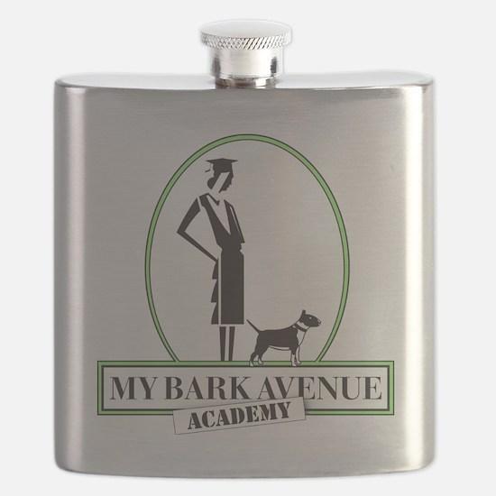 MBA Academy Logowear Flask