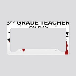 3rd Grade Zombie License Plate Holder