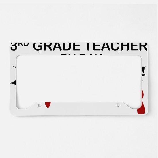 3rd Grade Zombie License Plate Holder