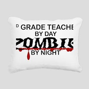 3rd Grade Zombie Rectangular Canvas Pillow