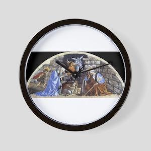 Nativity - Botticelli Wall Clock