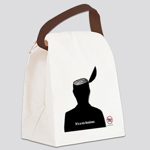 No-Brainer - (Anti-Pebble Mine Ca Canvas Lunch Bag