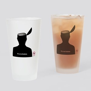 No-Brainer - (Anti-Pebble Mine Camp Drinking Glass