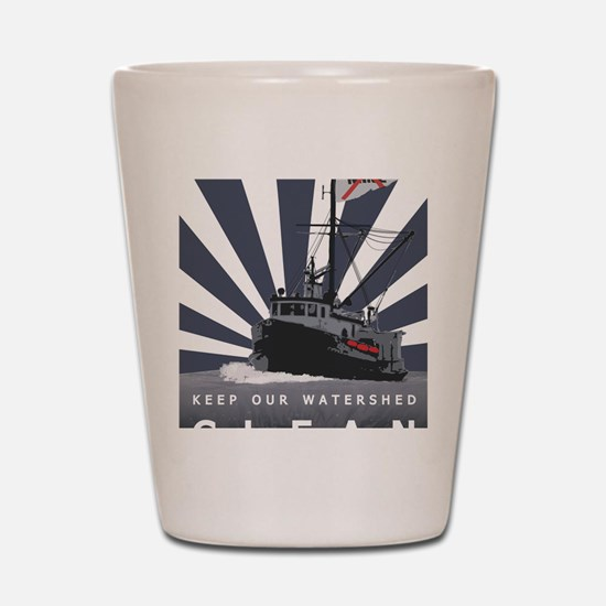 Commercial Fishing - (Anti-Pebble Mine  Shot Glass