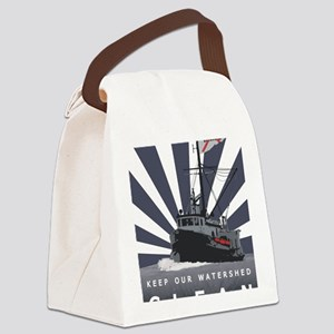 Commercial Fishing - (Anti-Pebble Canvas Lunch Bag