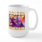 Golden Rectangle Large Mug