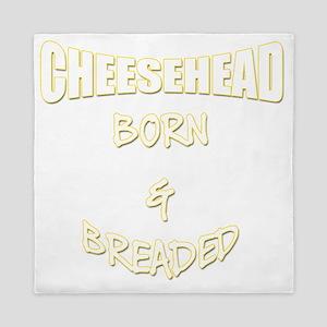 Cheesehead Born & Breaded Queen Duvet