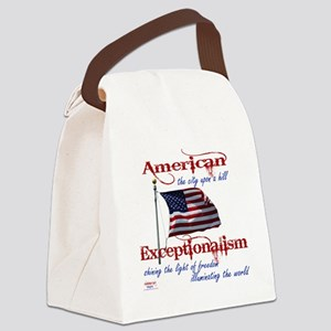 American Exceptionalism City Upon Canvas Lunch Bag